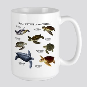Sea Turtles of the World Large Mug
