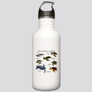Sea Turtles of the World Stainless Water Bottle 1.
