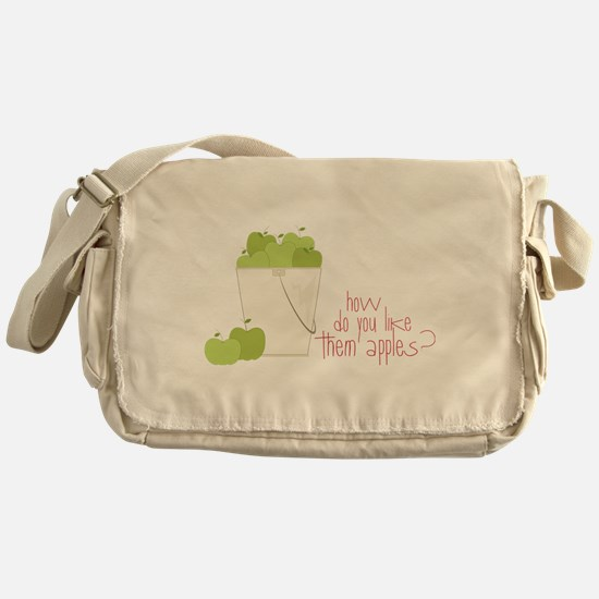 Them Apples Messenger Bag