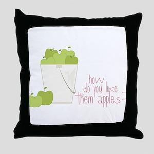 Them Apples Throw Pillow