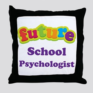 Future School Psychologist Throw Pillow