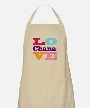 I Love Chana Apron