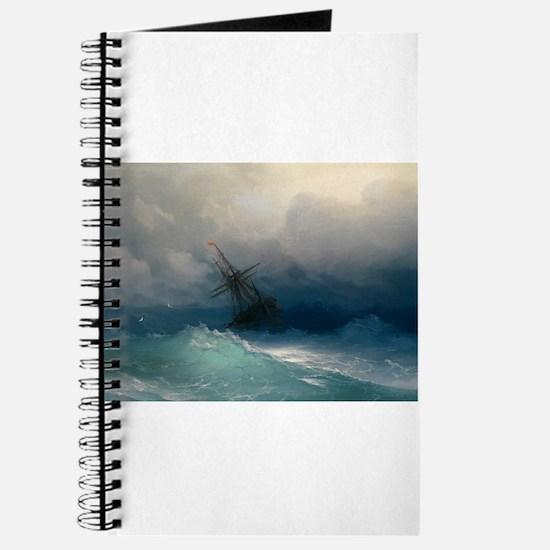 Aivazovsky - Ship on Stormy Seas Journal