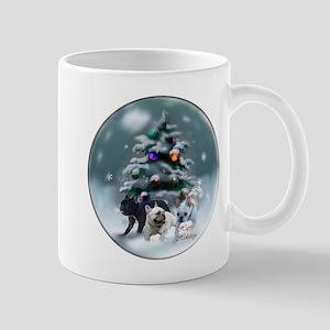 French Bulldog Christmas 11 oz Ceramic Mug