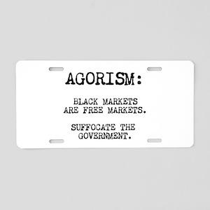 Agorism: Black Markets Are Free Markets Aluminum L