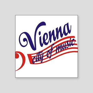 """vienna Square Sticker 3"""" x 3"""""""