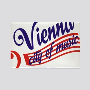 vienna Rectangle Magnet