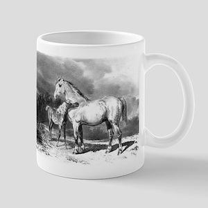 Mama And Baby Horse Mug