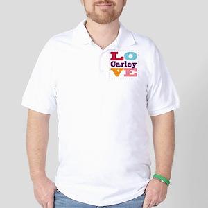 I Love Carley Golf Shirt