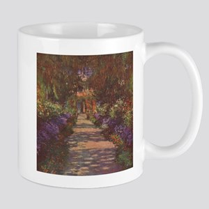 Charles Monet - Garden Path 1902 Mug