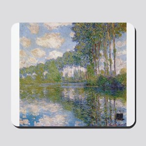 Claude Monet - Poplars at the Epte c1900 Mousepad