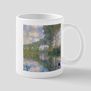 Claude Monet - Poplars at the Epte c1900 Mug