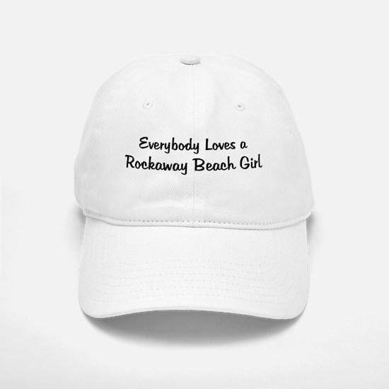 Rockaway Beach Girl Baseball Baseball Cap