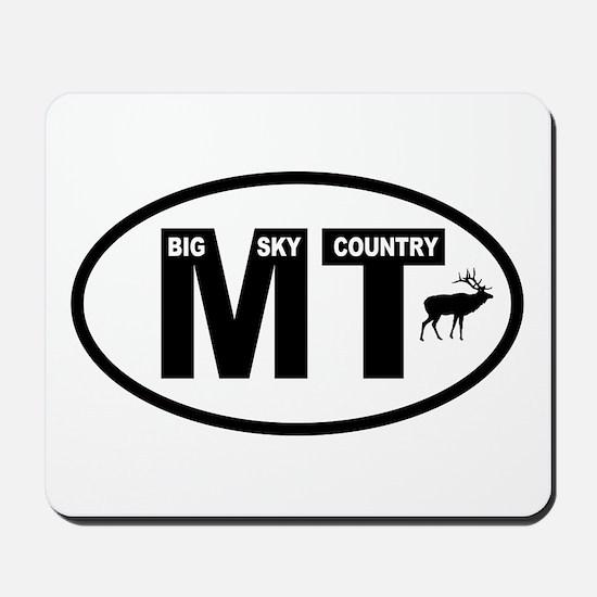 Montana Big Sky Country Mousepad