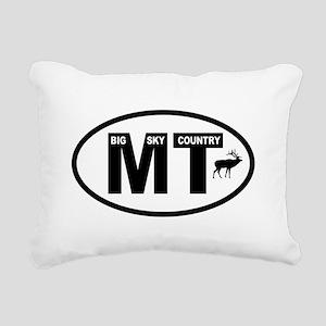 Montana Big Sky Country Rectangular Canvas Pillow
