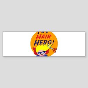 Im a Hair Hero Sticker (Bumper)