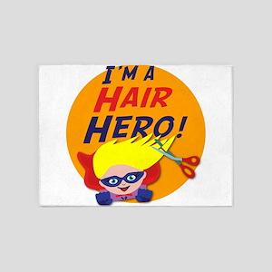 Im a Hair Hero 5'x7'Area Rug