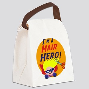 Im a Hair Hero Canvas Lunch Bag