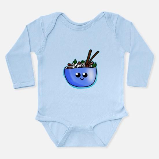 Chibi Pho Long Sleeve Infant Bodysuit