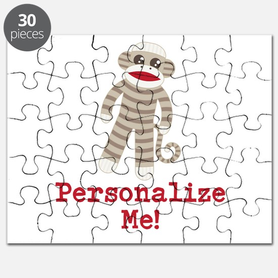 Classic Sock Monkey Puzzle