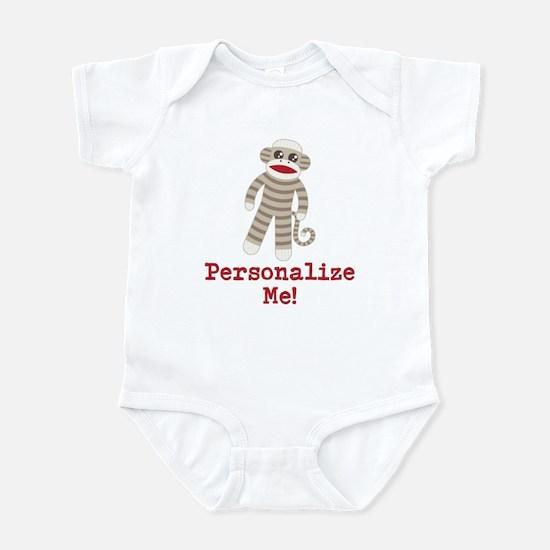 Classic Sock Monkey Infant Bodysuit