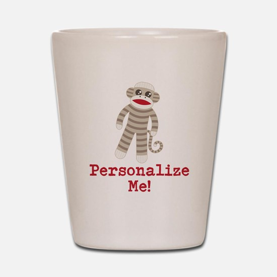 Classic Sock Monkey Shot Glass