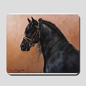 Friesian Horse Mousepad