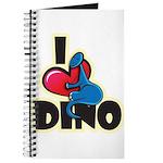 I Love Dino Journal