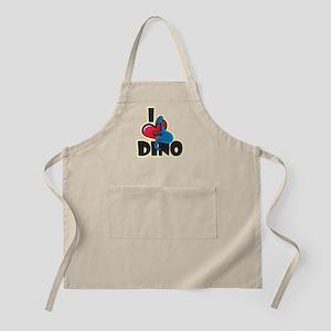 I Love Dino Apron