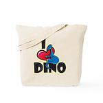I Love Dino Tote Bag