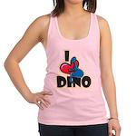I Love Dino Racerback Tank Top