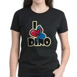I Love Dino Women's Dark T-Shirt