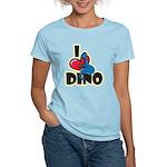 I Love Dino Women's Light T-Shirt