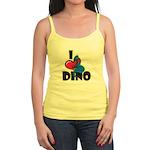 I Love Dino Jr. Spaghetti Tank