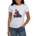 I Love Dino Women's T-Shirt