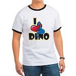 I Love Dino Ringer T