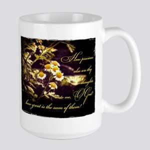 Thy Thoughts Large Mug