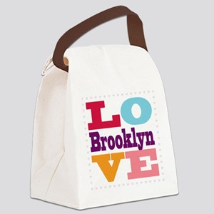 I Love Brooklyn Canvas Lunch Bag