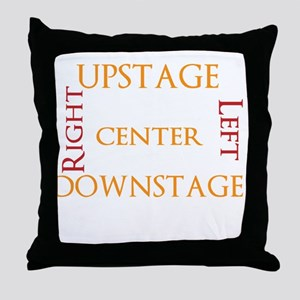 Stage Directions! Throw Pillow