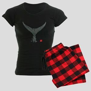 tuna tail on black Women's Dark Pajamas
