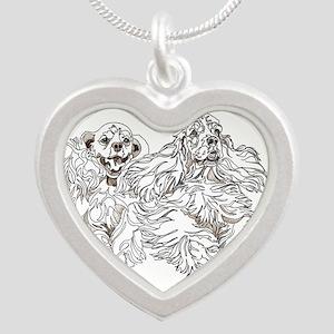 Christine Walter's Cocker Buddies Silver Heart Nec
