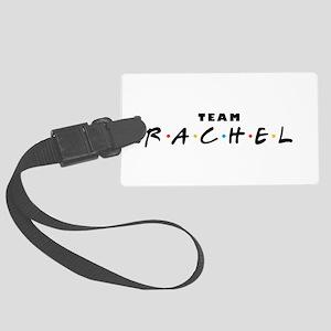 Team Rachel Large Luggage Tag