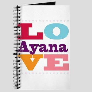 I Love Ayana Journal