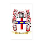 Auberty Sticker (Rectangle 50 pk)