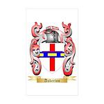 Auberton Sticker (Rectangle 50 pk)