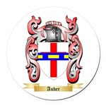Auber Round Car Magnet