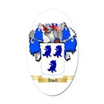Atwill Oval Car Magnet