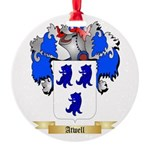 Atwell Round Ornament