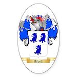 Atwell Sticker (Oval 50 pk)