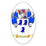 Attwill Sticker (Oval 50 pk)